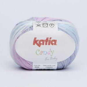 Katia Candy 656 Paars-Blauw-Grijs op = op