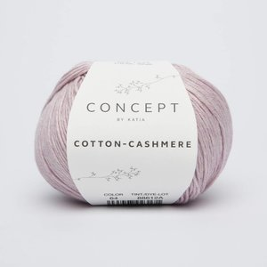 Cotton cashmere 64 Licht medium paars