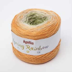 Katia Spring Rainbow oranje/beige/groen (56)