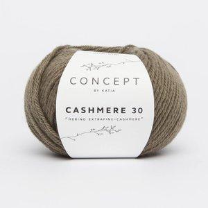 Katia Cashmere 30 mosgroen (207)