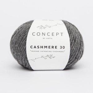 Cashmere 30 donker grijs (204)