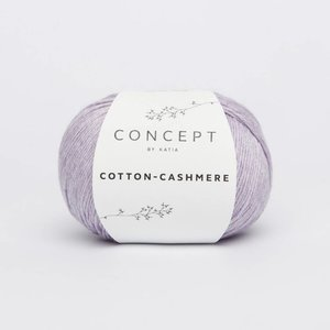 Cotton cashmere medium paars (51)