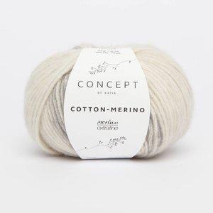 Cotton-Merino plus beige-grijs (200)