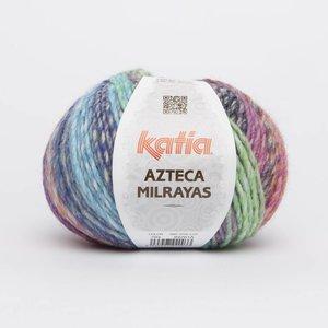 Azteca Milrayas Geel/Groen/Blauw/Oranje/Fuchsia (704)