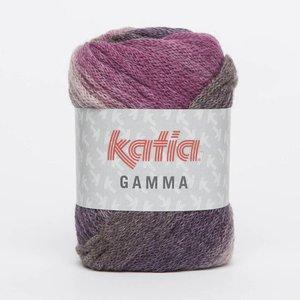 Katia Gamma Bleekrood/Lila/Reebruin (54)