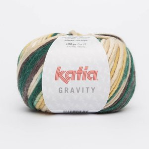 Katia Gravity Bruin/Flessegroen/Mosterdgeel (60)