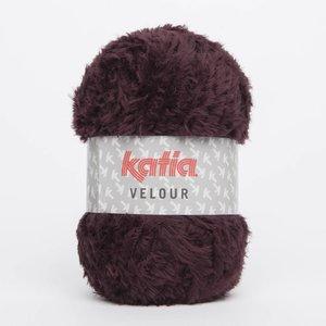 Katia Velour Bordeauxpaars (72)