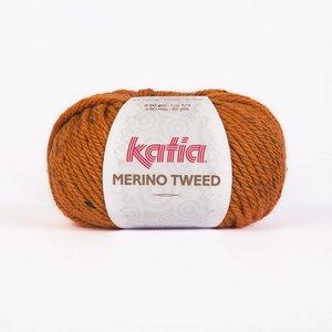 Merino Tweed oranje (403)
