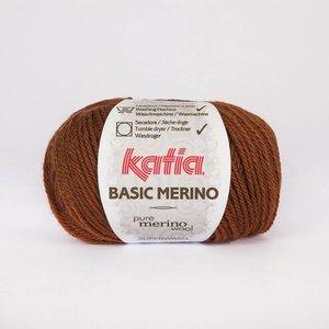 Basic Merino bruin (60)