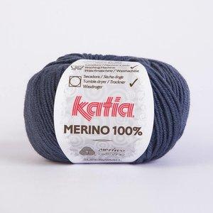 Merino 100% blauw (53)