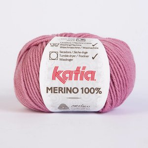 Merino 100% bleekrood (37)