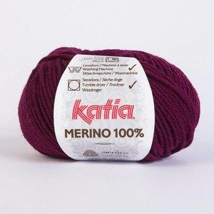 Merino 100% bordeauxpaars (25)