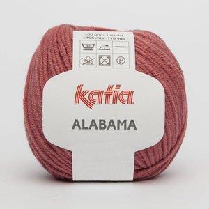 Katia Alabama medium bleekrood (45) op = op