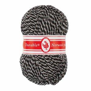 Durable Norwool Plus wit/bruin/zwart (M00932)