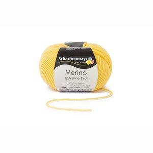 Merino extrafine 120 geel (120)