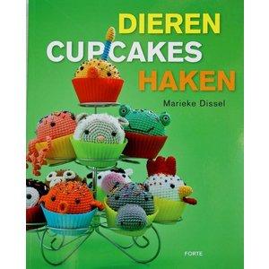 Dieren cupcakes haken - Marieke Dissel