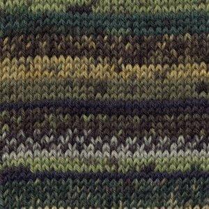 Drops Fabel Print groen (542)