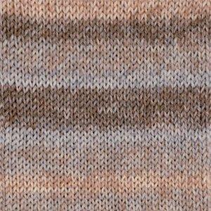 Drops Fabel Long Print sandy dust (651)