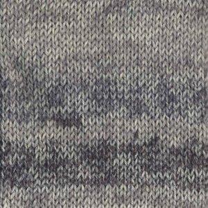 Drops Fabel Long Print silver fox (602)