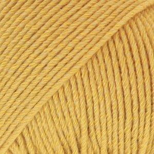 Cotton Merino mosterdgeel (15)