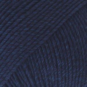 Cotton Merino marineblauw (08)
