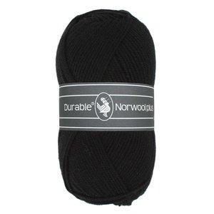 Durable Norwool Plus zwart (000)
