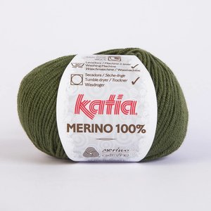Katia Merino 100% donkergroen (23)