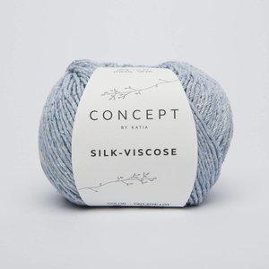 Silk-Viscose 56 Hemelsblauw