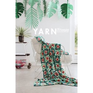 Star Fruit Blanket - Yarn 3