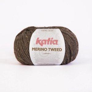 Merino Tweed bruin (303)