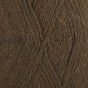 Alpaca donkerbruin (601)