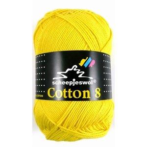 Cotton 8 kanariegeel (551)