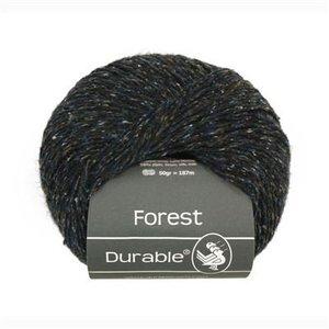 Forest 4006 Donkerblauw/bruin gemêleerd