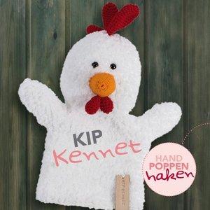 CuteDutch garenpakket handpop Kip Kennet