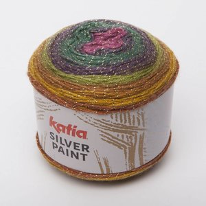 Silver Paint Fuchsia/Groen/Parelmoer/Lichtviolet/Mosterdgeel (101)