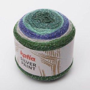 Silver Paint Smaragdgroen/Briljantblauw/Grijs/Groen (105)