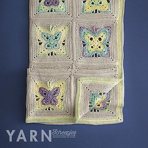 Moonlight Butterfly Blanket - Yarn 2