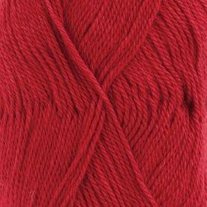 BabyAlpaca Silk rood (3609)