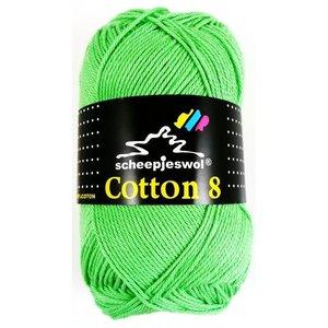 Cotton 8 groen (517)
