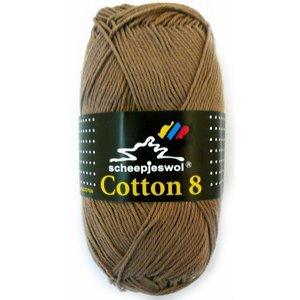 Cotton 8 lichtbruin (659)