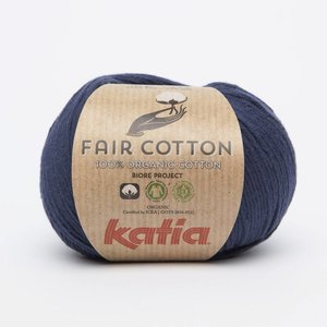 Fair Cotton 5 Donker blauw