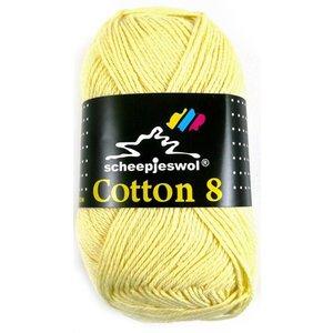 Cotton 8 lichtgeel (508)