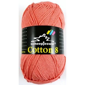 Cotton 8 koraal (650)