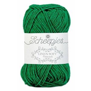 Linen Soft donkergroen (605)