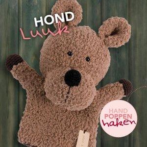 CuteDutch garenpakket handpop Hond Luuk