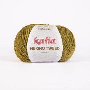 Merino Tweed pistache (401)