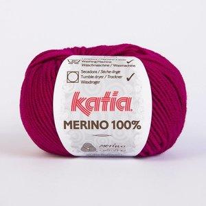 Katia Merino 100% donker fuchsia (49)