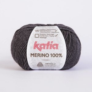 Merino 100% donker grijs (503)