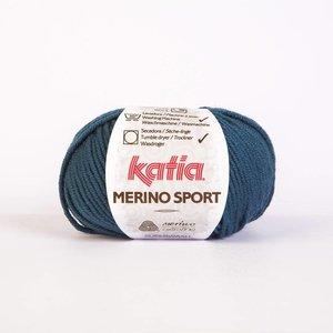 Merino Sport donker turquoise (33)