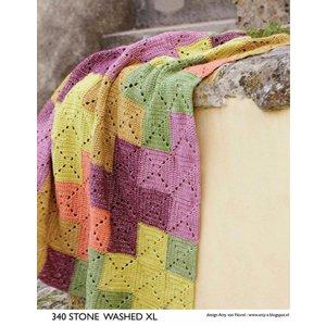 Gehaakte deken van Stone Washed XL (S 340)
